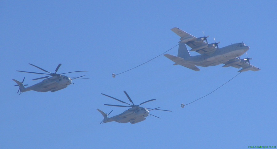 Aerial refueling: 